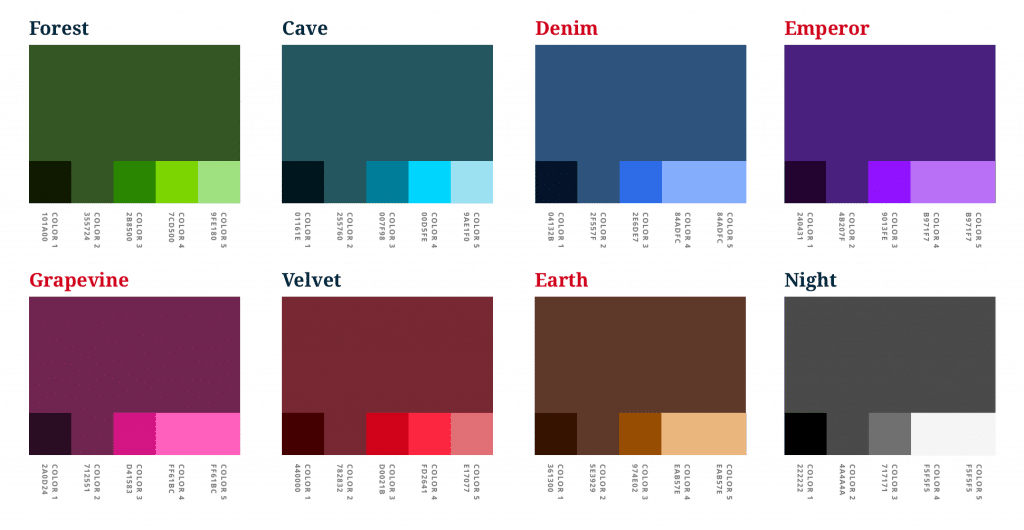 ALPS 3.x Muted colors